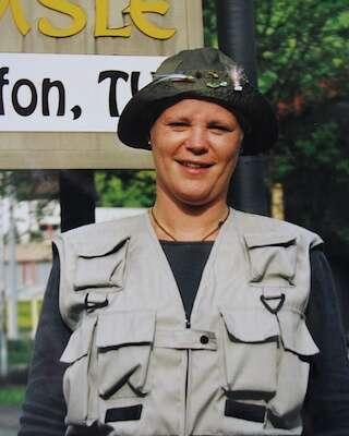 Het enige vrouwelijke lid dat VVC Apeldoorn gehad heeft..
